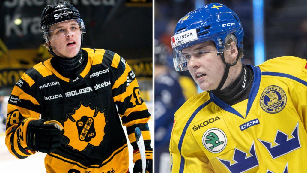 Jonatan Berggren har haft en framgångsrik säsong både i Skellefteå och i Tre Kronor.