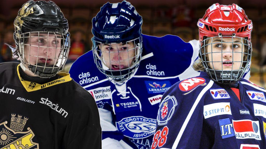 Så blev de tidernas yngsta målskyttar i Hockeyallsvenskan