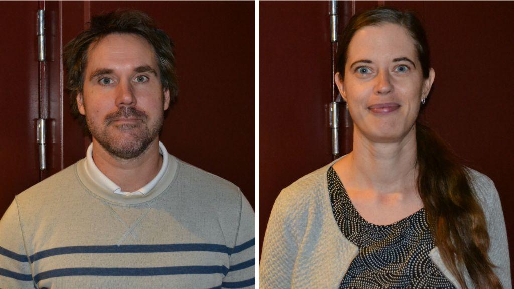 Mikael Swarén, gästforskare på högskolan Dalarna och Madelen Fahlstedt, forskare på Kungliga Tekniska Högskolan.