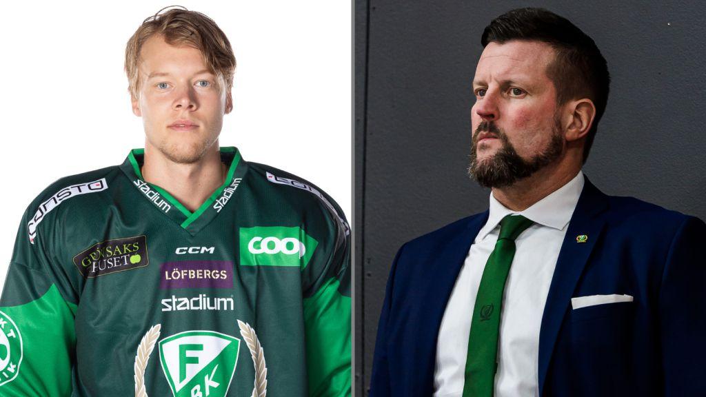 Anton Karlsson lämnar Färjestad efter provspelet