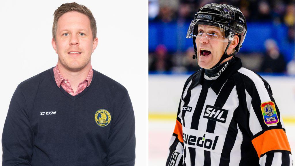Joel Hansson och Morgan Johansson.