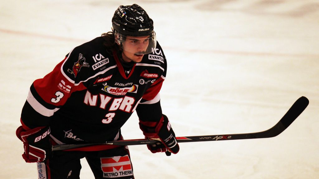 Pelle Karlsson tillbringade fyra säsonger i Nybro.