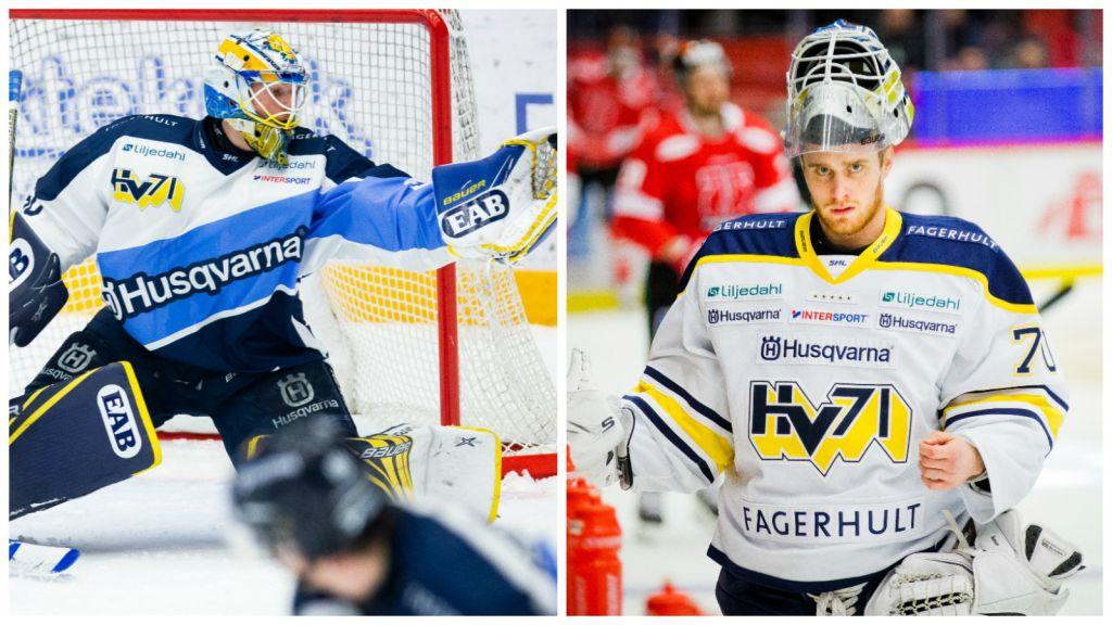 Hugo Alnefelt och Adam Åhman.