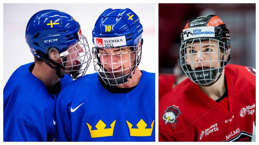 Svenskarna framträdande på nya draftrankingen