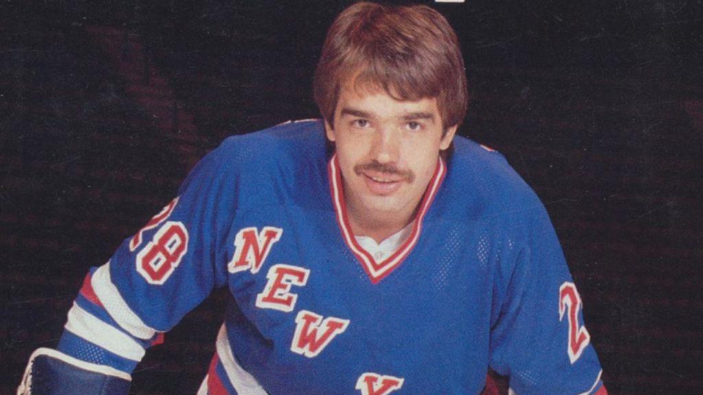 Mikko Leinonen i Rangers-tröjan.
