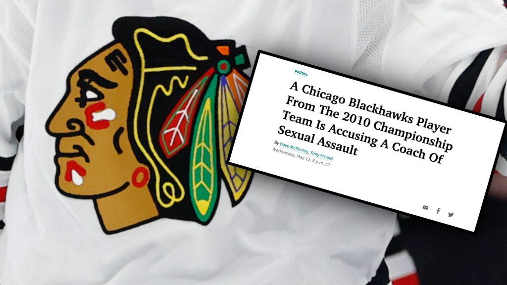Tidigare NHL-spelare anklagar ledare för sexuella övergrepp