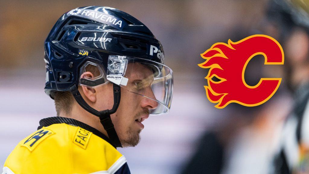 Kinnvall missar försäsongslägret i Calgary Flames