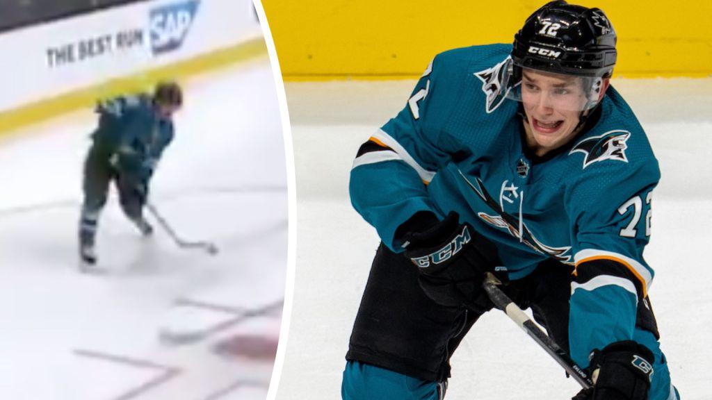 TV: Eklund med första poängen i NHL-debuten