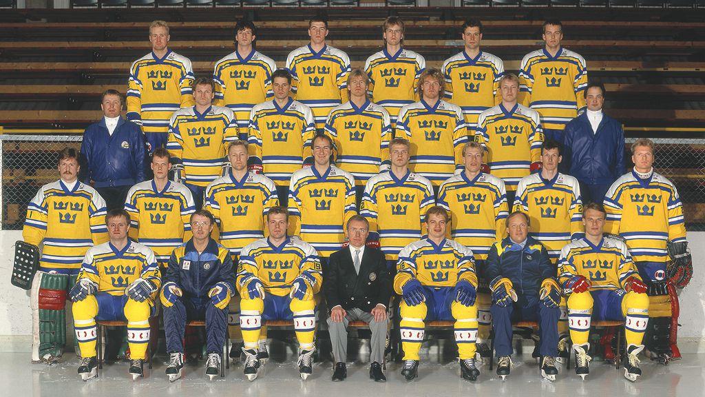 Det svenska världsmästarna 1987.