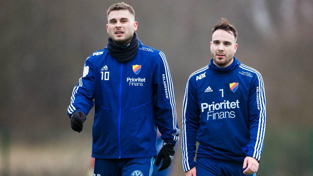Ajdarevic i bråk - skickades av träningen: