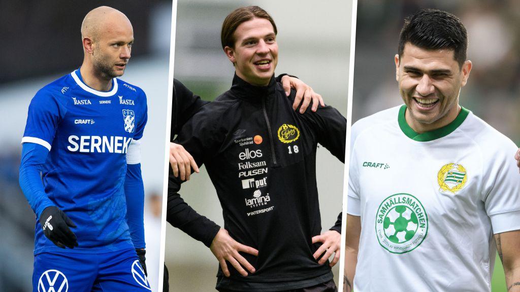 """Ingen rädsla för Blåvitt och Hammarby: """"Ni kan räkna med oss i år"""""""