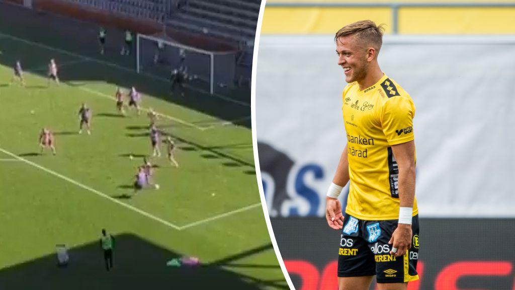 Vilket självförtroende, Jesper Karlsson imponerar:  ''Han är helt sjuk''