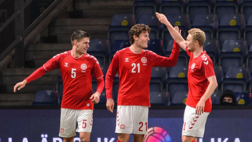 Danmark slog Sverige i kritiserade landskampen