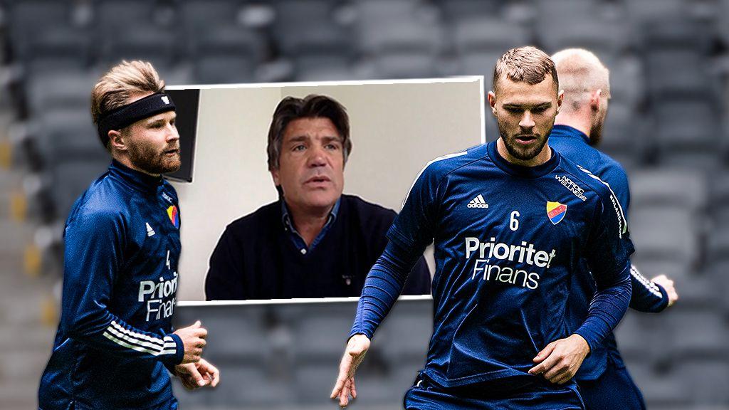 """TV - Bosse Andersson: """"Vi är favoriter på förhand"""""""