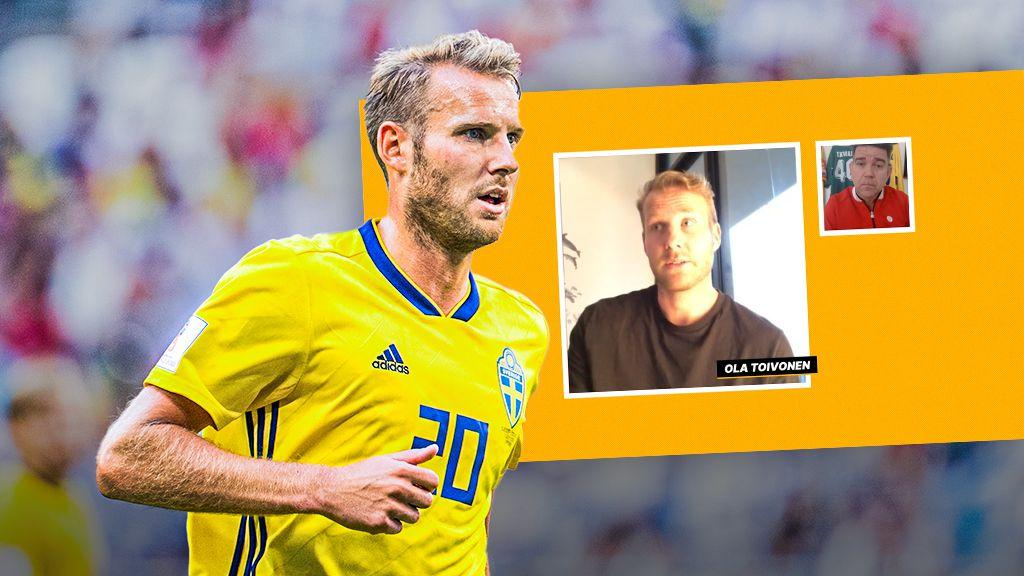 Ola Toivonen: Har pratat med AIK, Djurgården och Malmö FF