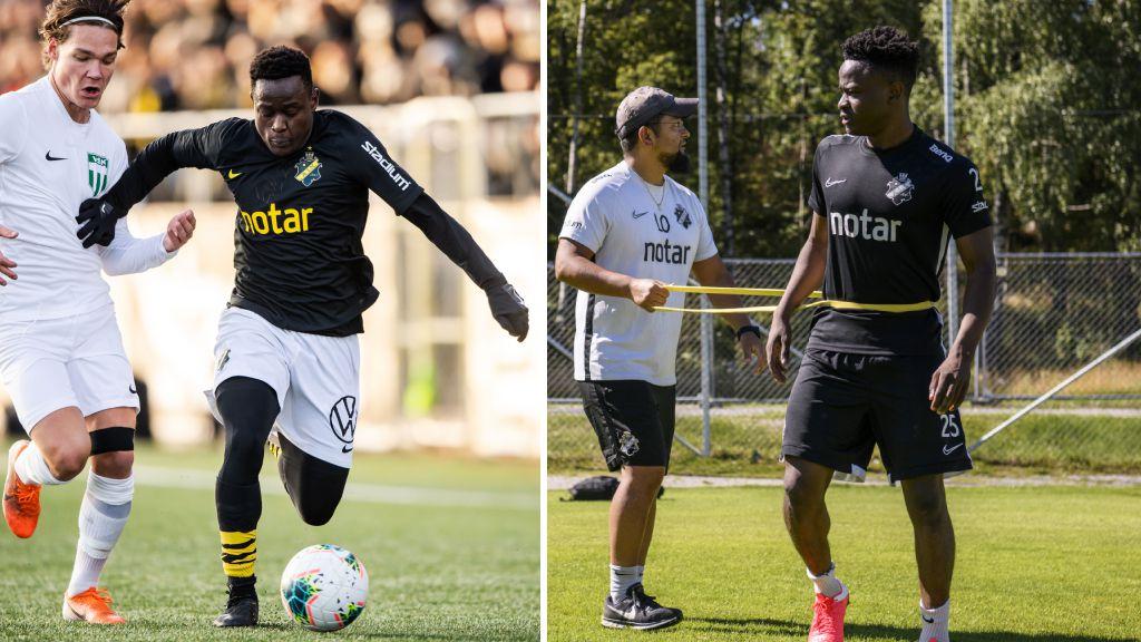 """Snart kommer hjälp för AIK: """"Jag har ögonen på comebacken"""""""