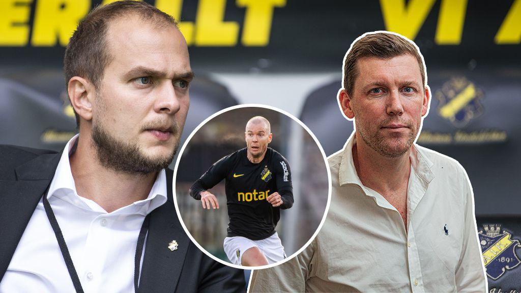Namnen som AIK måste rädda - pressen på nye sportchefen