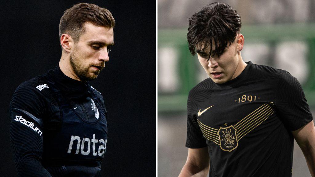 Tungt AIK-besked - duo borta resten av våren