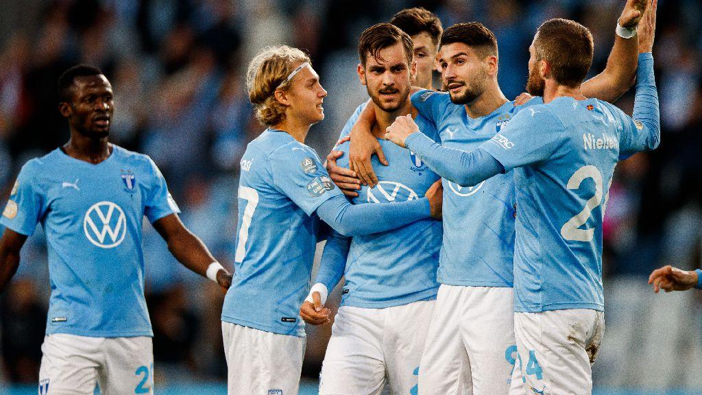 Malmö FF upp i serieledning - vann med hela 5-1