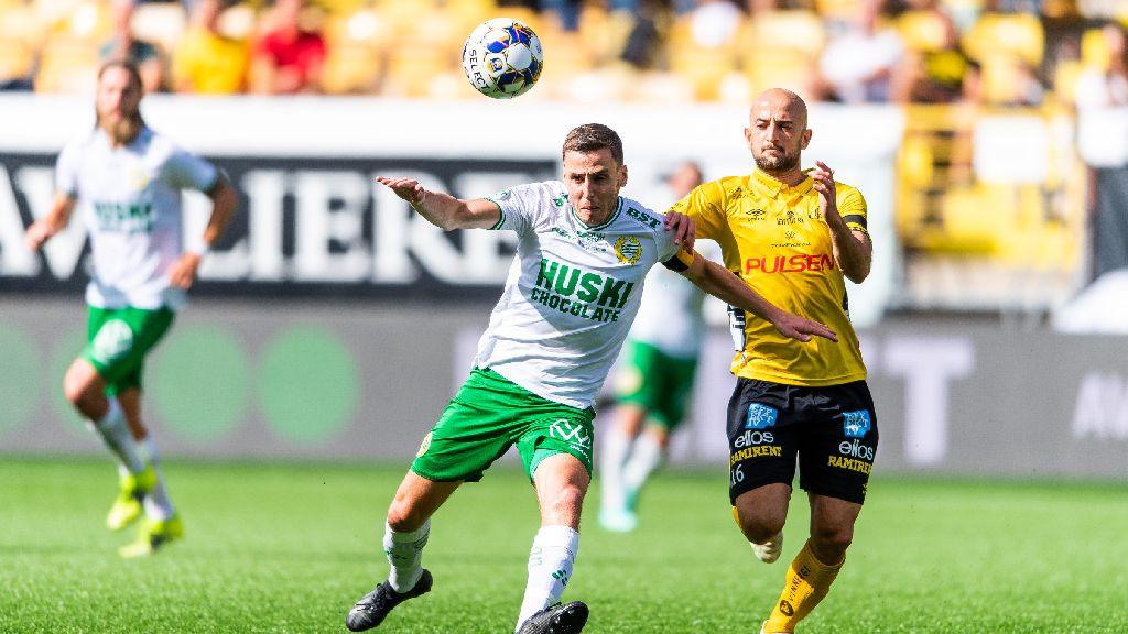 Hammarby får med sig kryss efter två sena mål