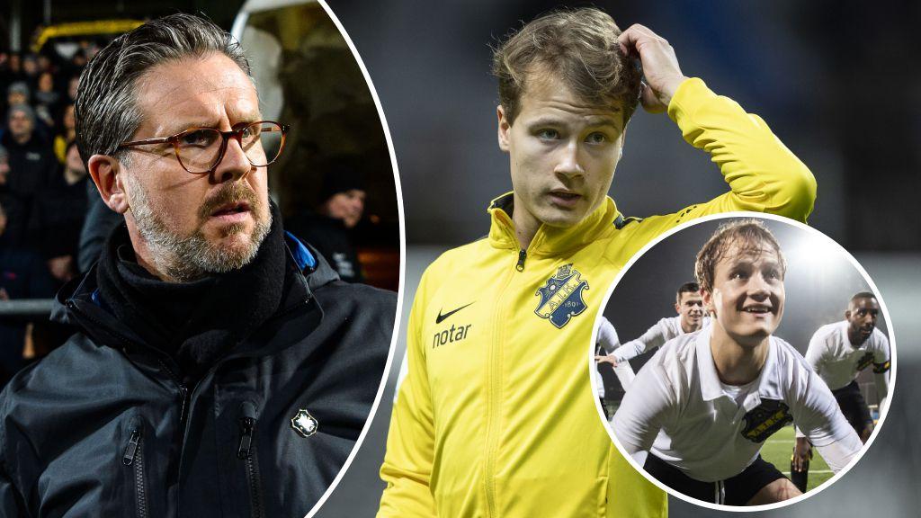 """Därför hade AIK-talangen ett svårt 2019 - """"Var inte alls så i Ajax"""""""