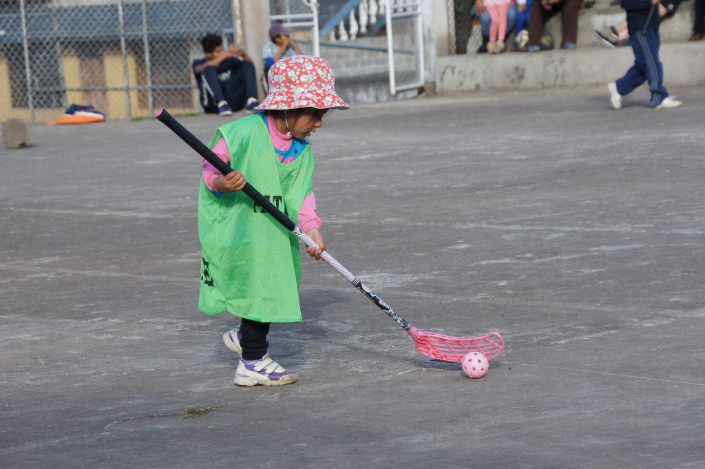 Övning ger färdighet i Ecuador.