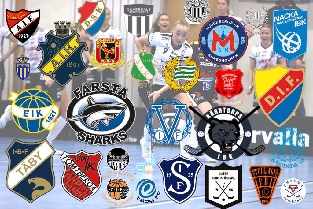 Betyg på alla 85 klubbmärken i Stockholm