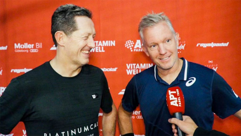 Jonas Björkman och Thomas Johansson.