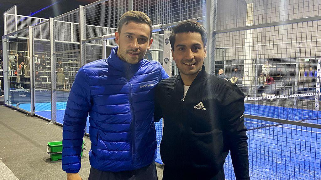 Lucas Campagnolo och Simon Vasquez.