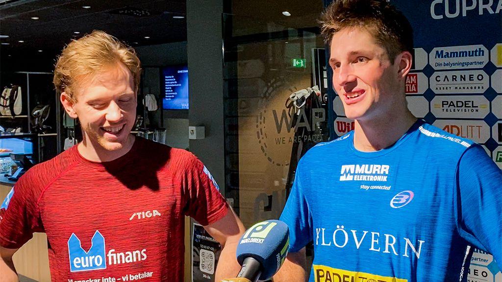 Knutsson/Windahl med årets första seger på World Padel Tour