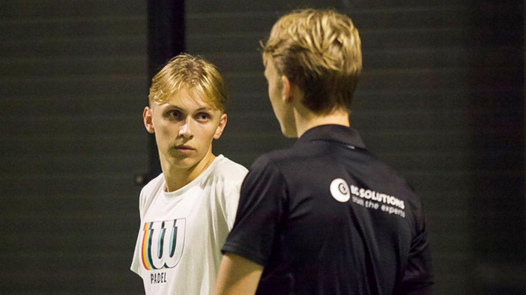 På bilden: Rasmus Axelsson t.v. och Leo Hylander t.h.