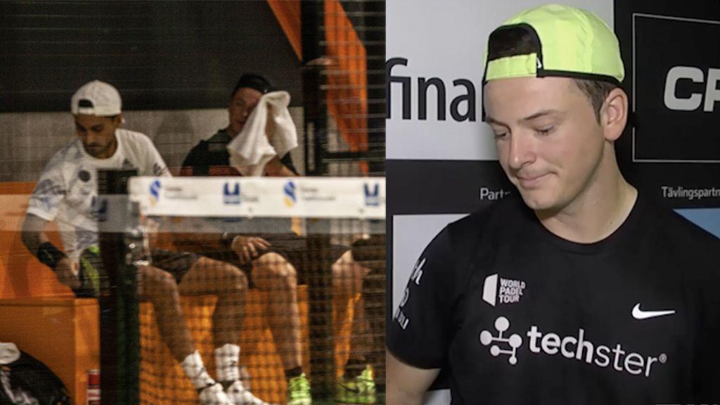 Rocafort vann finalen med trasigt ligament