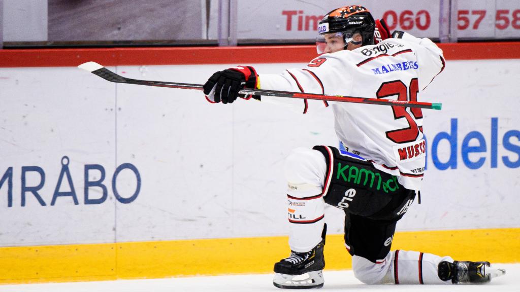 Seger för Örebro Hockey efter avgörande i förlängningen mot Timrå