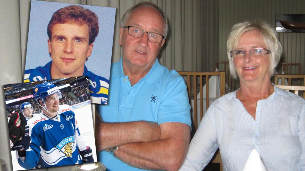 Sami Lepistö var dagbarn hemma hos Dan Söderström