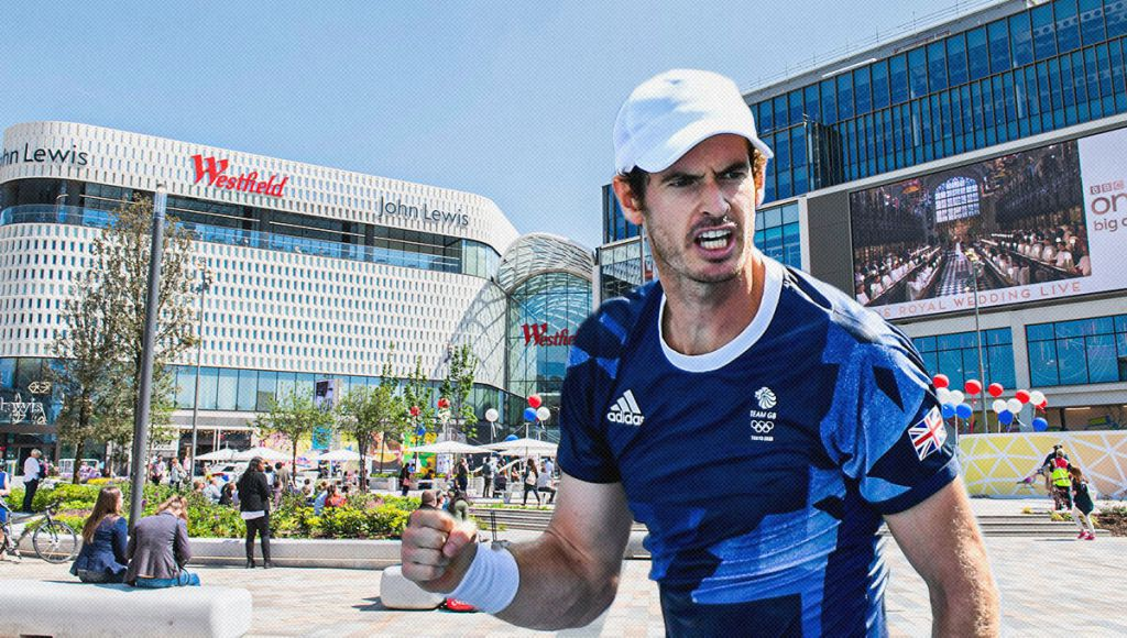 Padel courts to open at Westfield London — backed by Andy Murray