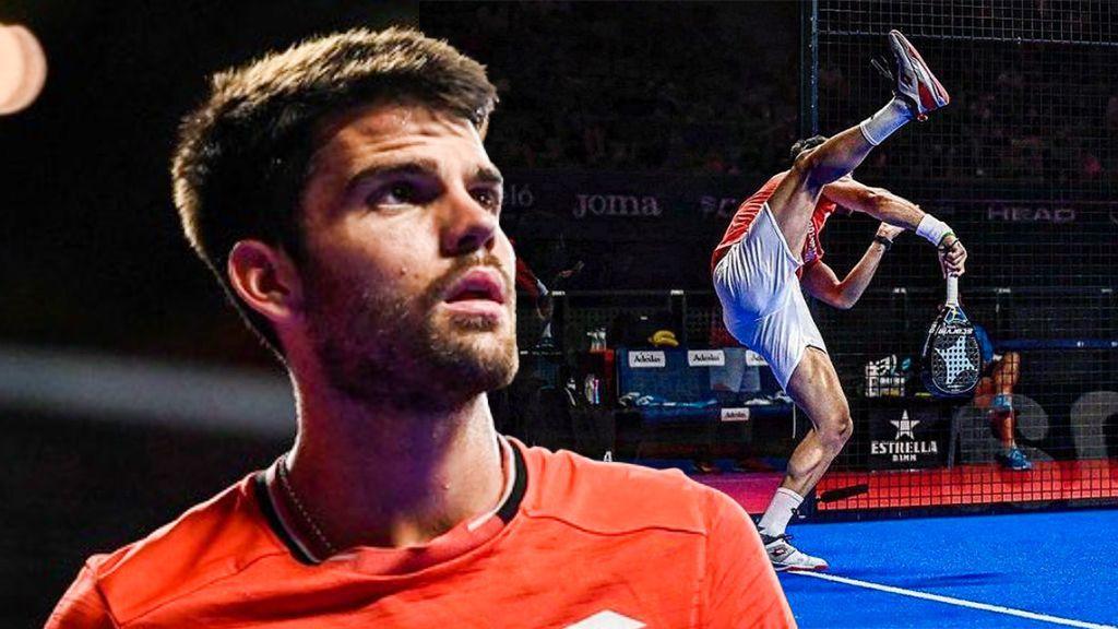 Here is Javi Garrido's new partner — the Brazilian changes position