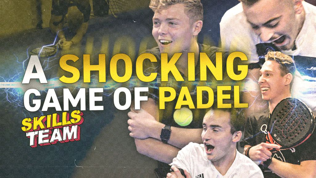 Playing padel with ELECTRIC SHOCKS! - Skills Team EP2
