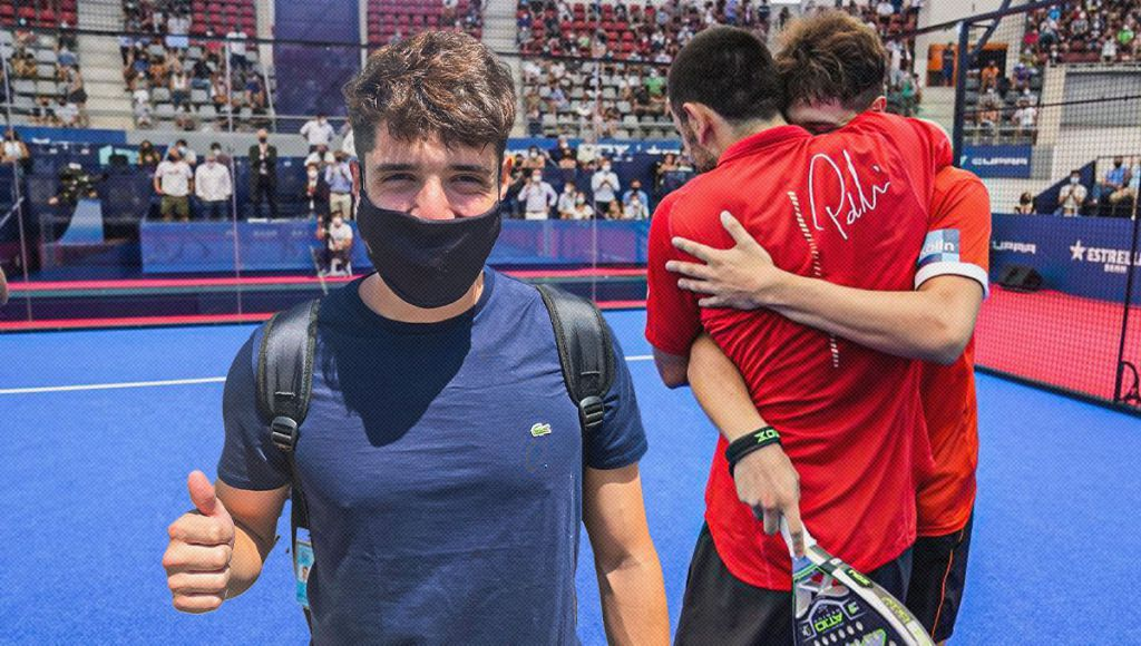 """Tapia to Padel Alto after the success: """"Me and Pablo have made a change"""""""