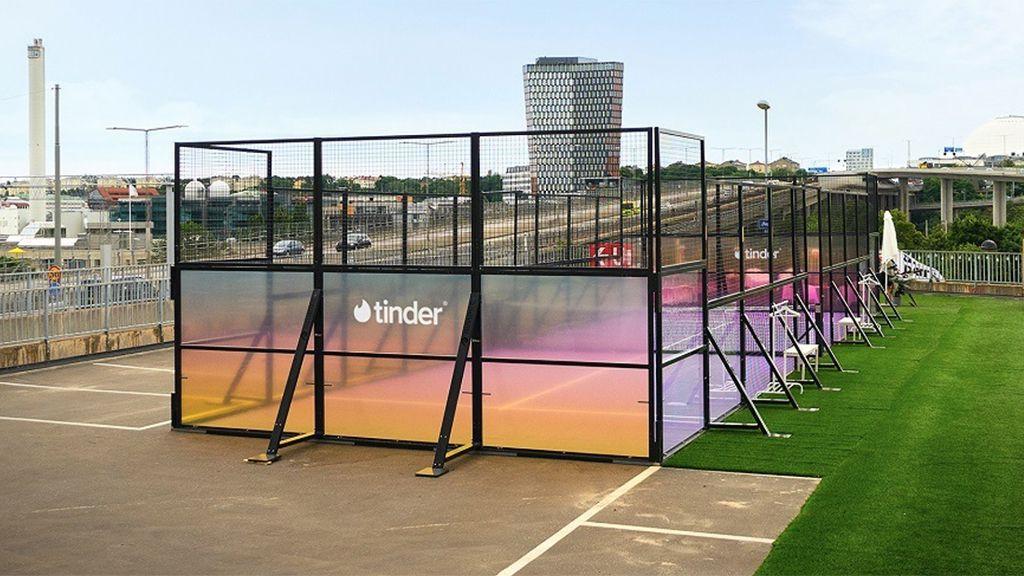 Tinder opens padel court for singles in Stockholm