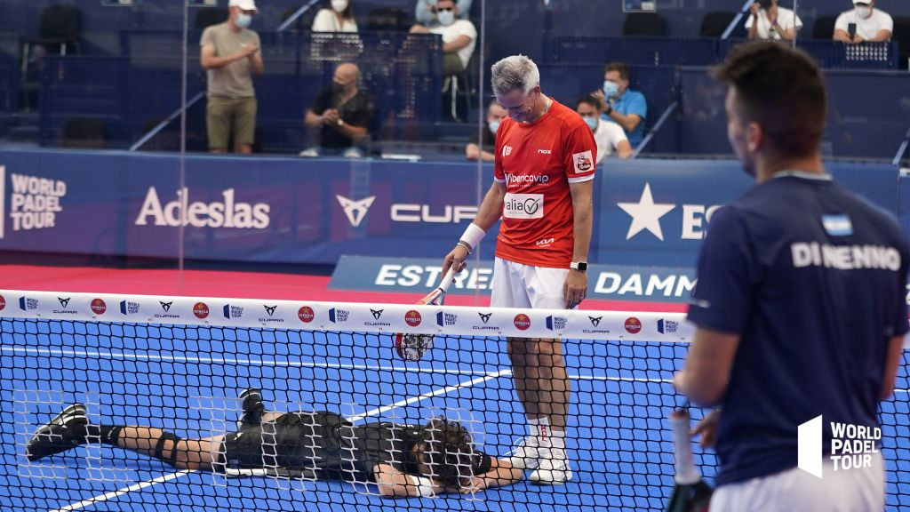 Success for the new pair — knocked out Navarro and Di Nenno in the final tiebreak