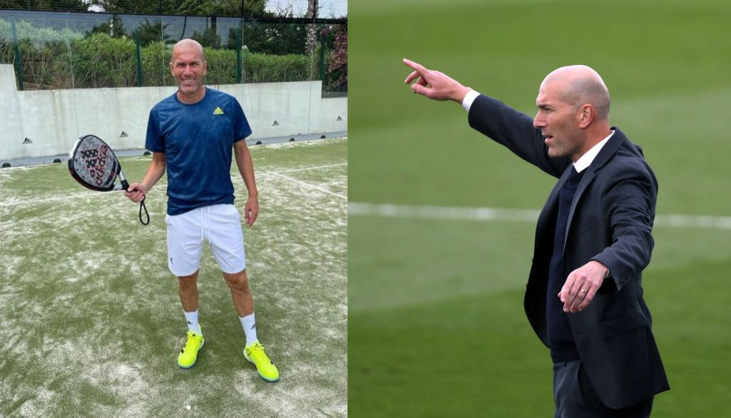 Zidane opens padel facility in the south of France